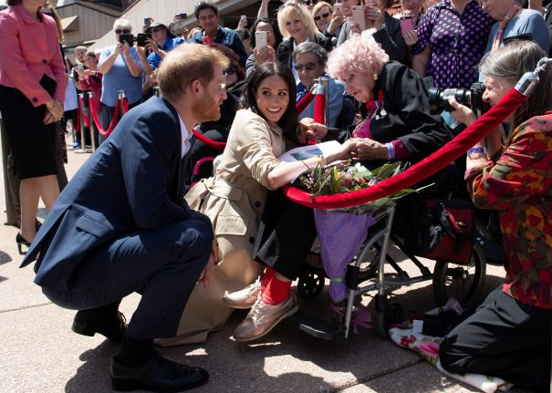Harry Introduces Meghan To His Favourite Aussie