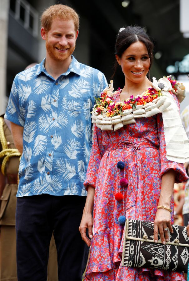 Harry And Meghan Visit University Of The South Pacific