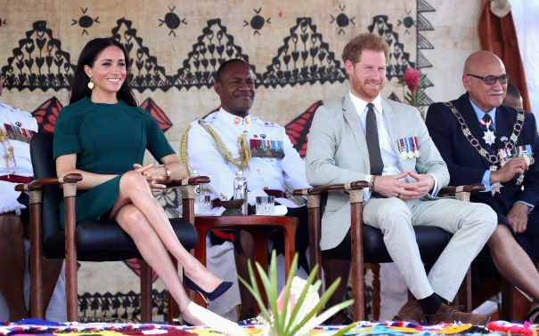 The Duke And Duchess Attend Statue Unveiling