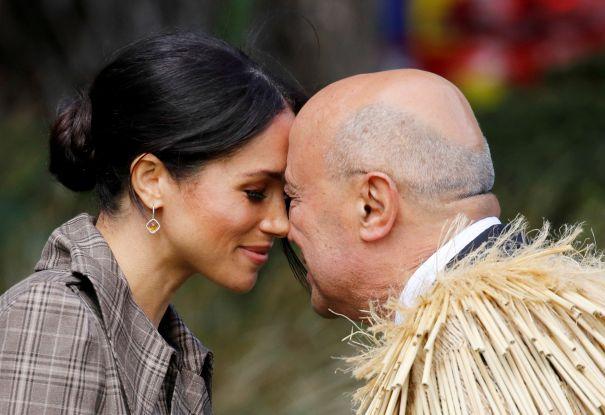 Meghan's Maori Greeting