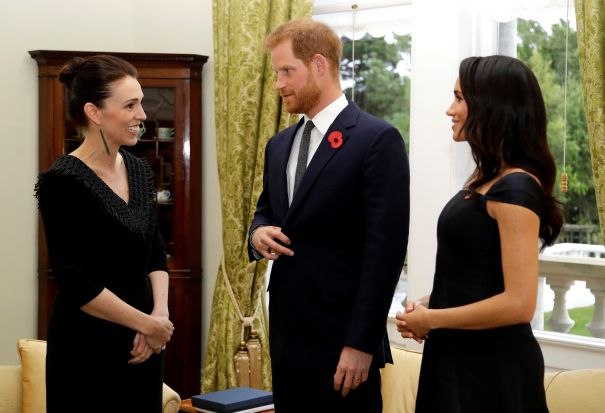 Meeting New Zealand's PM