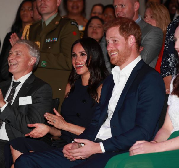 Harry And Meghan Take In Auckland