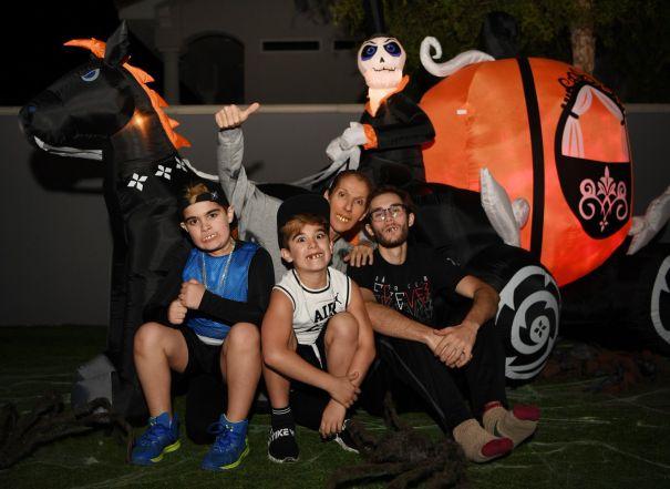 Celine Dion's Family Halloween