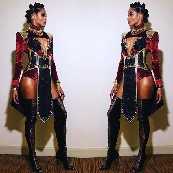Ciara Rocks 'Black Panther'-Inspired Costume
