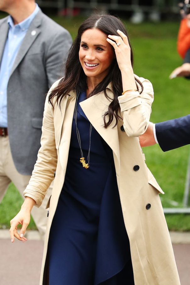 Meghan's Chic Accessory