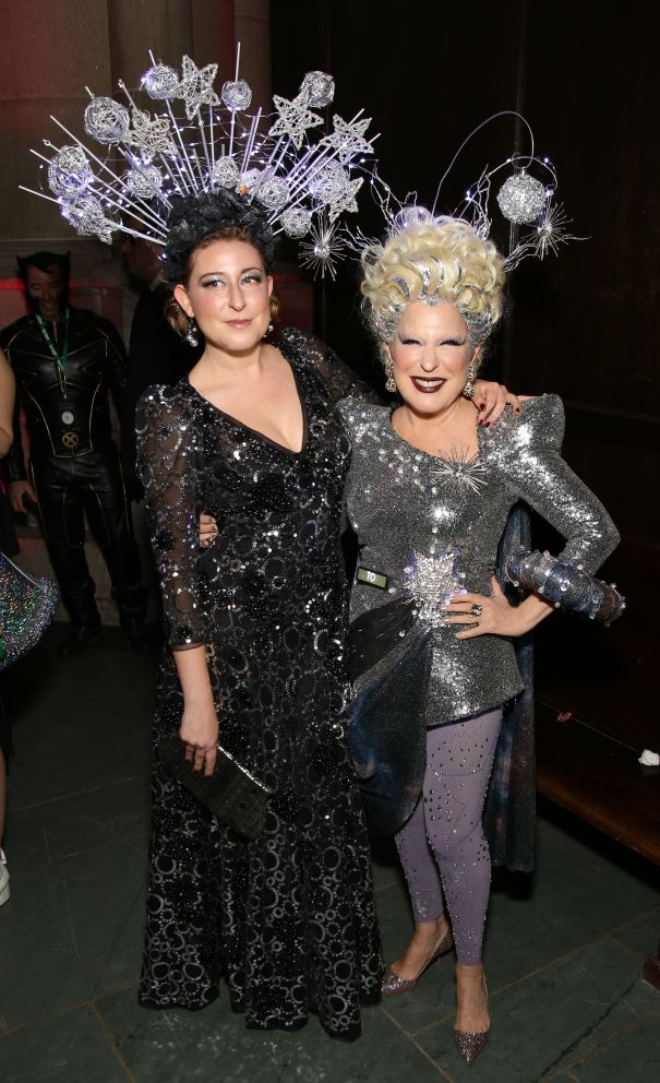 Bette Midler Dresses Up At Hulaween Gala