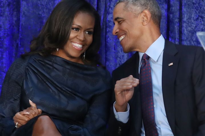 Michelle and Barack Obama - Getty Images