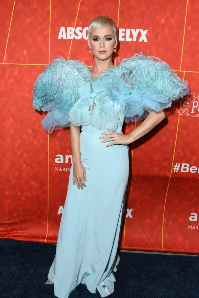 Katy Perry at the amfAR Gala (Photo by Jon Kopaloff/Getty Images)