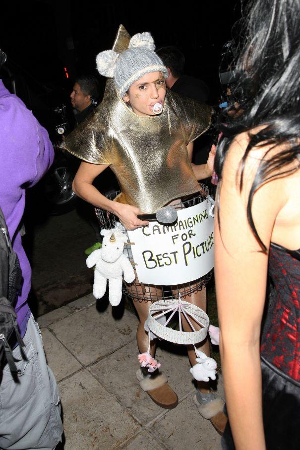 Nina Dobrev's Clever Costume