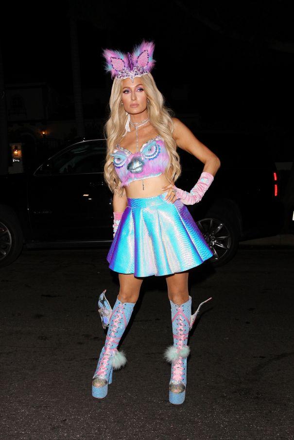 Paris Hilton Finds Her Wings