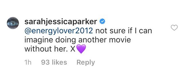 Instagram/@SarahJessicaParker