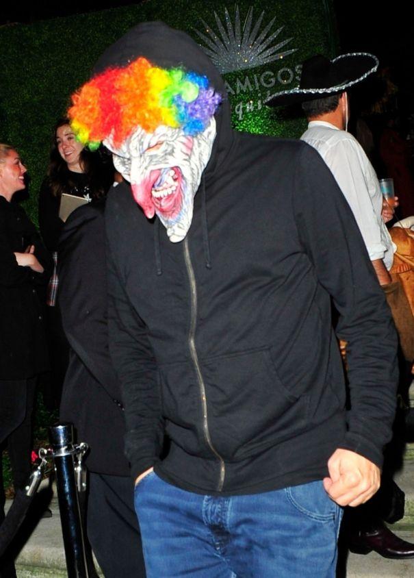 Leonardo DiCaprio The Creepy Clown