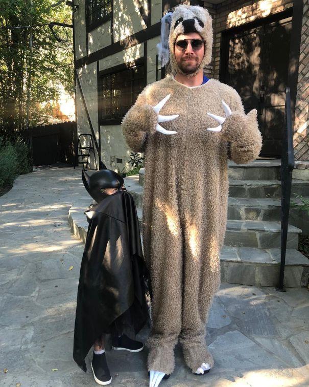Stephen Amell Meets Batman
