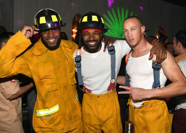 Tyson Beckford Plays With Fire