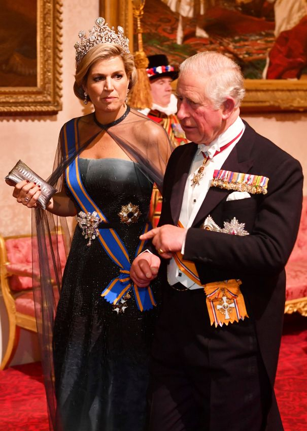 Queen Maxima Gets The Point