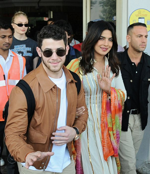 Nick And Priyanka Arrive In Jodhpur