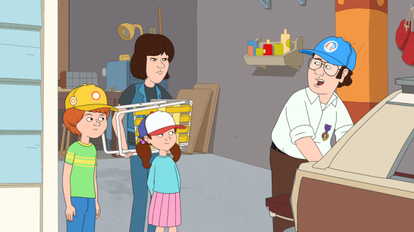 'F is for Family' - season premiere