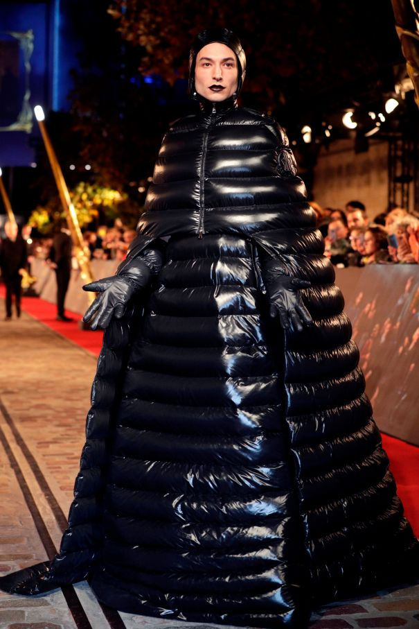Making A Statement In Moncler