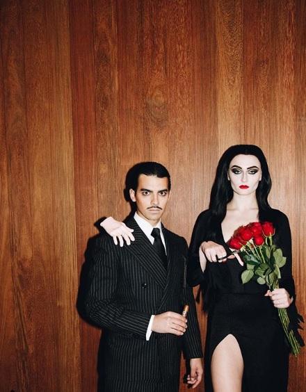 Joe Jonas And Sophie Turner Go Gothic