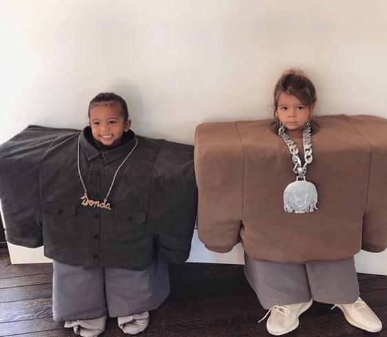 Mini Kanye West And Lil Pump