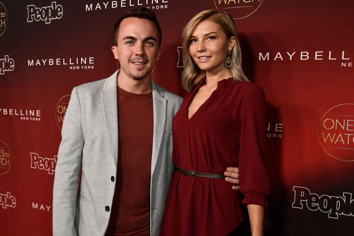 Mandatory Credit: Photo by Rob Latour/REX/Shutterstock (9114903hm) Frankie Muniz and Paige Price PEOPLE's Ones to Watch Party presented by Maybelline New York at NeueHouse, Arrivals, Los Angeles, USA - 04 Oct 2017