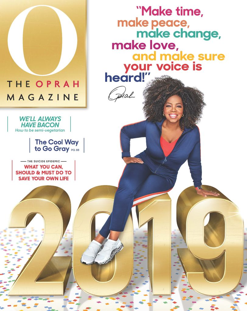 Courtesy of O, The Oprah Magazine