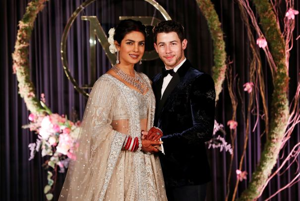 Priyanka And Nick Celebrate In New Delhi