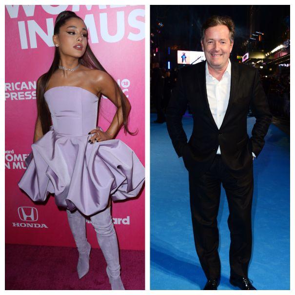 Ariana Grande vs. Piers Morgan