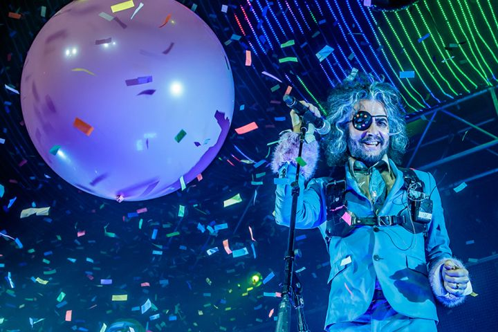 Wayne Coyne of The Flaming Lips performs onstage at Alcatraz on Nov. 14, 2018, in Milan, Italy.