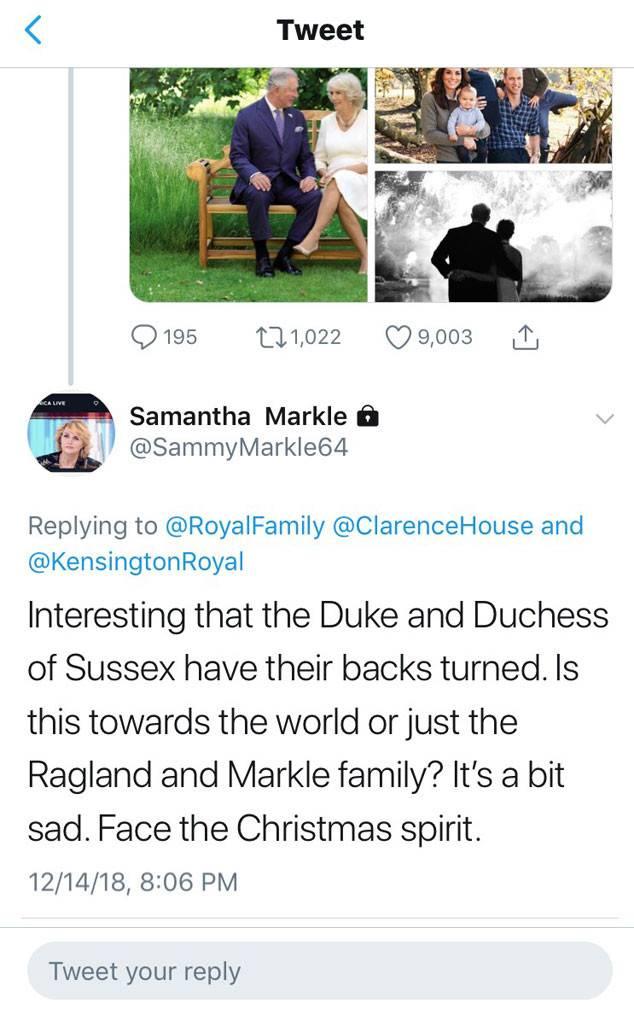 Twitter/Samantha Markle