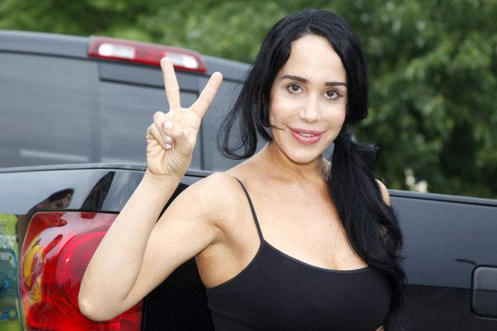 Mandatory Credit: Photo by Mediapunch/REX/Shutterstock (1755320b) Nadya Suleman Celebrity Pillow Fight press conference, King Of Prussia, Pennsylvania, America - 22 Jun 2012