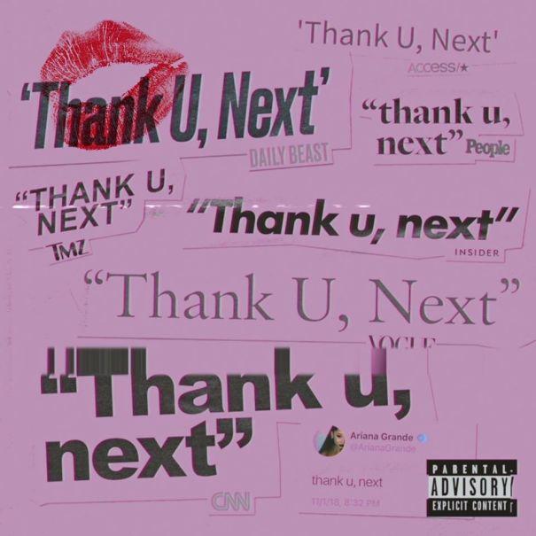 3. 'Thank U, Next' - Ariana Grande