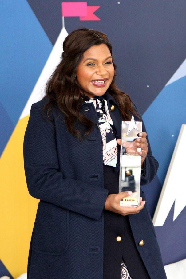 IMDb Presents Mindy Kaling With STARmeter Award
