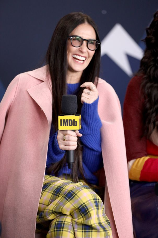 Demi Moore Is All Smiles