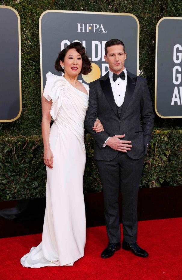 Sandra Oh & Andy Samberg