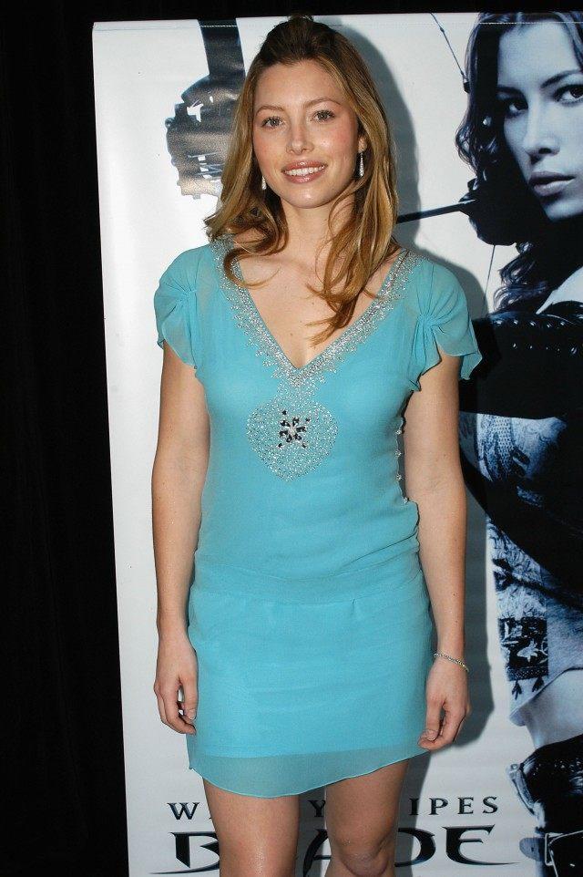 Jessica Biel in 2004 Regis Martin/Getty Images