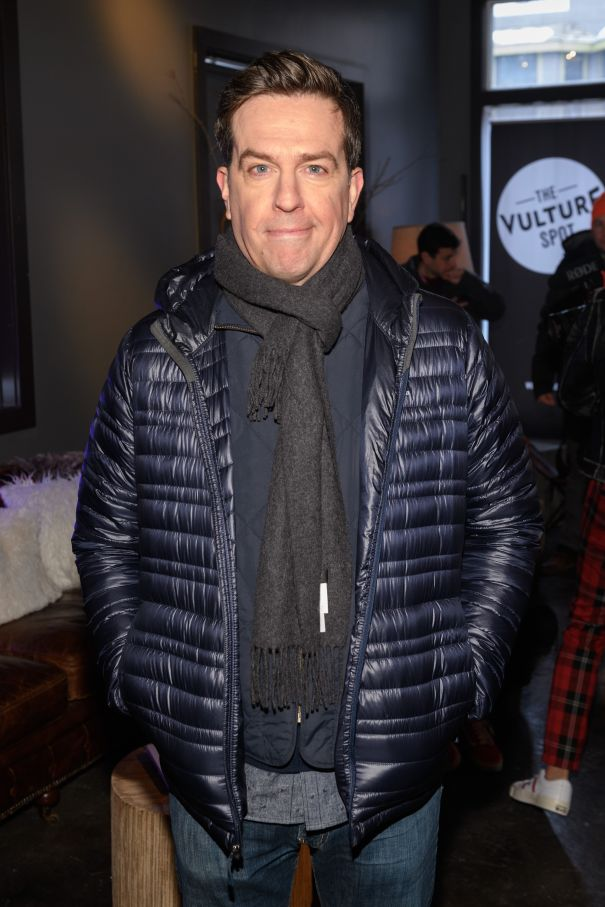 Ed Helms Promotes 'Corporate Animals'