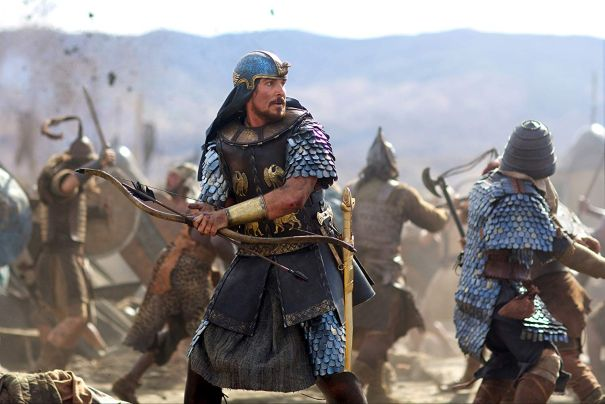 Moses In 'Exodus: Gods And Kings' (2014)