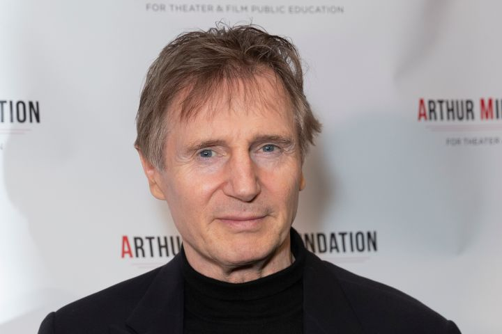 CITY WINERY, NEW YORK, UNITED STATES - 2018/10/22: Liam Neeson attends 2018 Arthur Miller Foundation Honors Gala at City Winery. (Photo by Lev Radin/Pacific Press/LightRocket via Getty Images)