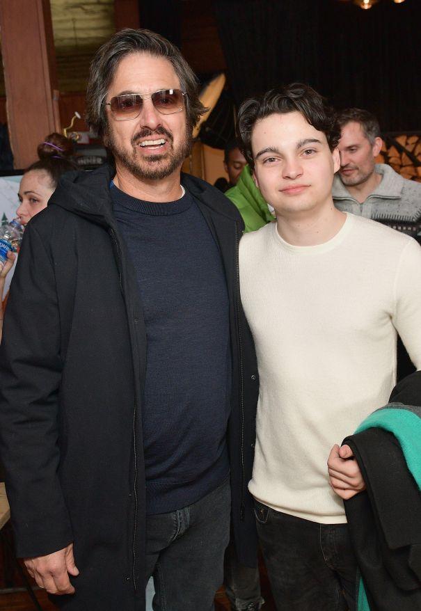Ray Romano and Max Burkholder
