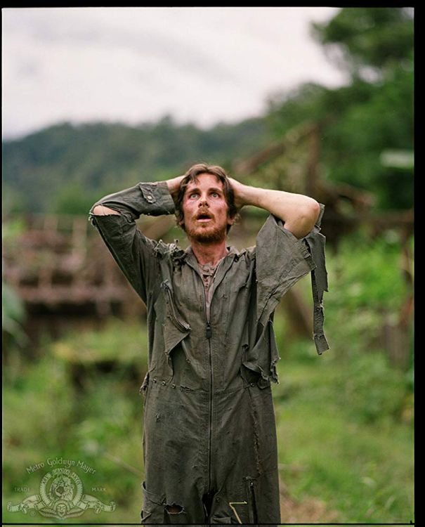 Dieter Dengler In 'Rescue Dawn' (2006)