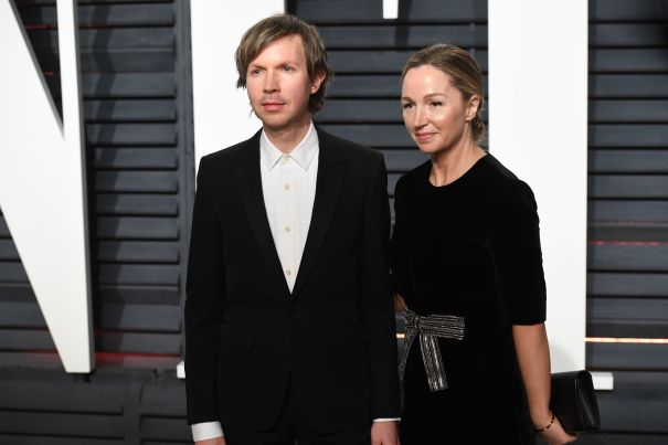 Beck Hansen And Marissa Ribisi