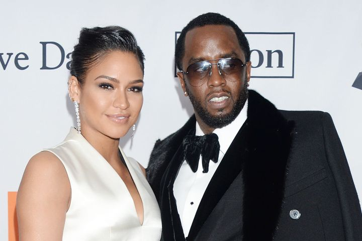 Mandatory Credit: Photo by Broadimage/REX/Shutterstock (9336633ft) Cassie Ventura, Sean Combs Pre-Grammy Gala and Grammy Salute to Industry Icons Presented by Clive Davis and The Recording Academy, New York, USA - 27 Jan 2018 Clive Davis and Recording Academy Pre-Grammy Gala @ Sheraton Times Sqaure