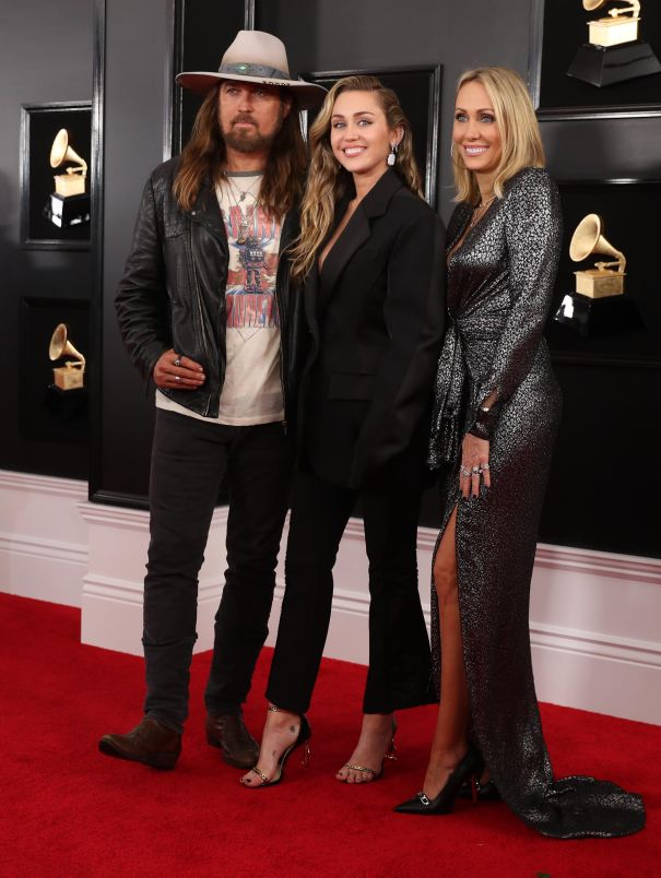 Billy Ray, Miley And Tish Cyrus