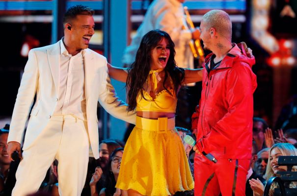 Camila Cabello Opens The Night With Ricky Martin, J Balvin And More