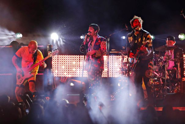 Post Malone Teams Up With Red Hot Chili Peppers