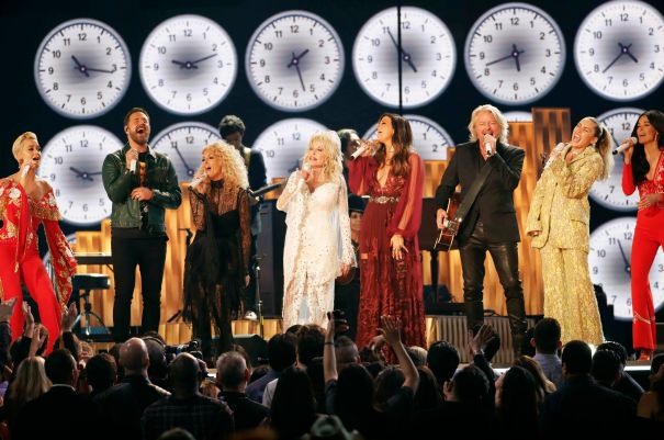 The Grammys Pay Tribute To Dolly Parton