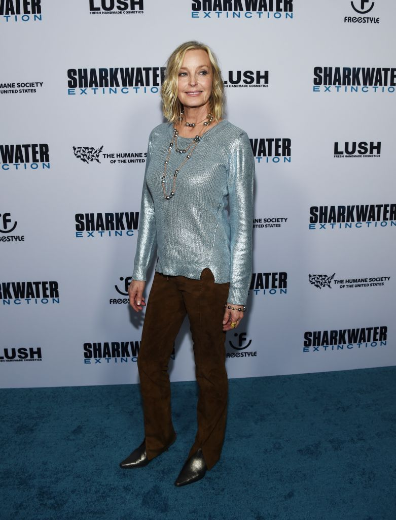"Bo Derek attends Freestyle Releasing's ""Sharkwater Extinction"" on the anniversary of Rob Stewart's death."