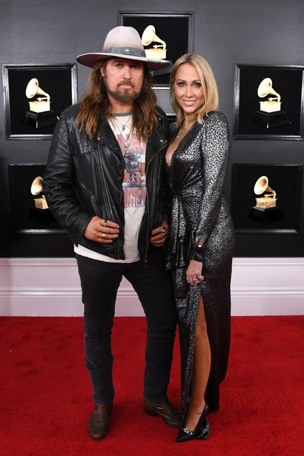Billy Ray Cyrus And Tish Cyrus