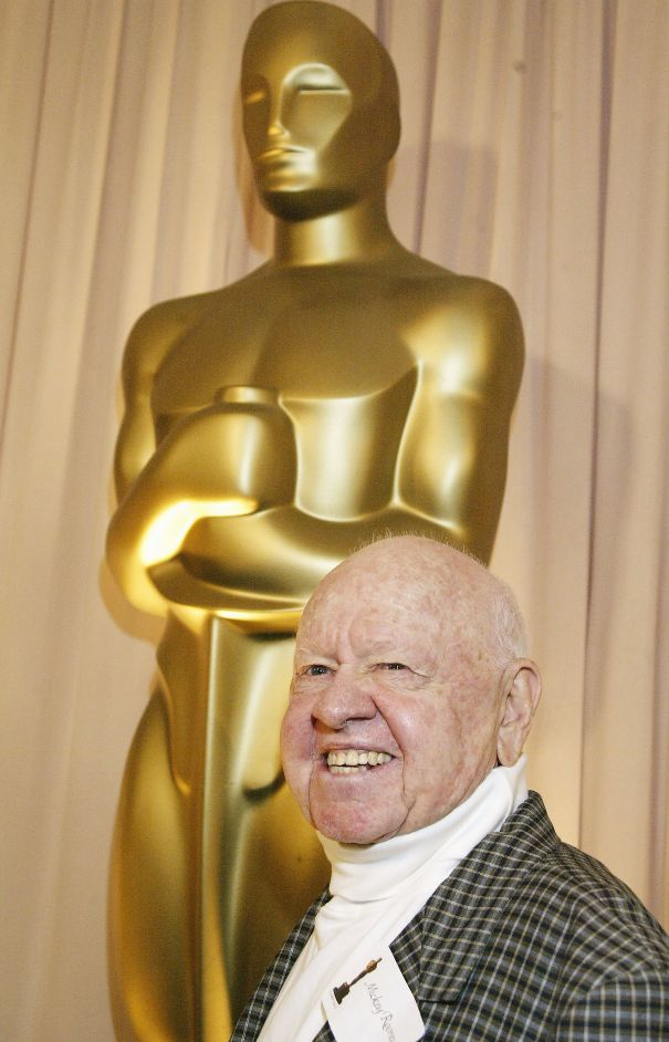 Mickey Rooney – 4 Nominations